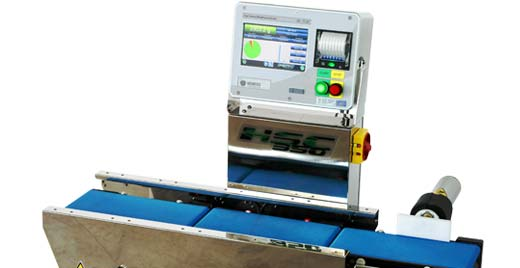 Checkweigher for punnets