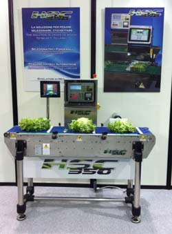 Checkweigher Q series at MacFrut 2011